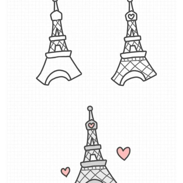 分享一波世界名建筑简笔画 一起画世界