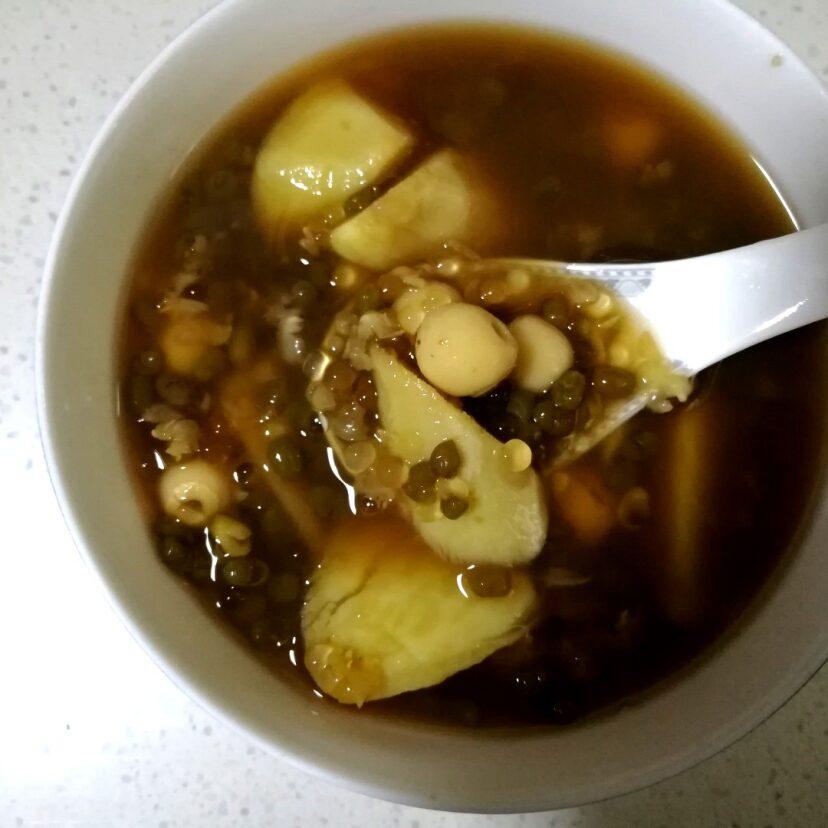 甘薯莲子西米露红糖水,在家也能做的一道简单甜品 养颜清火气 食谱 美食 小红书