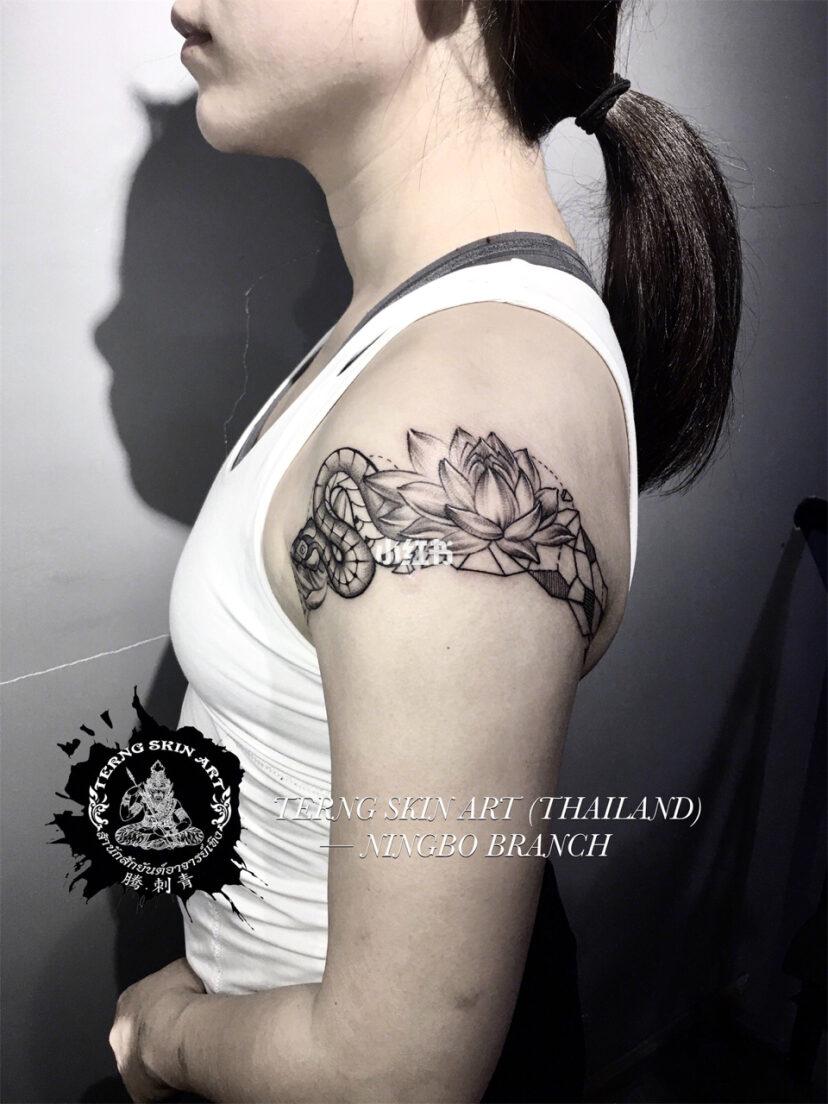 臂环纹身手稿经典