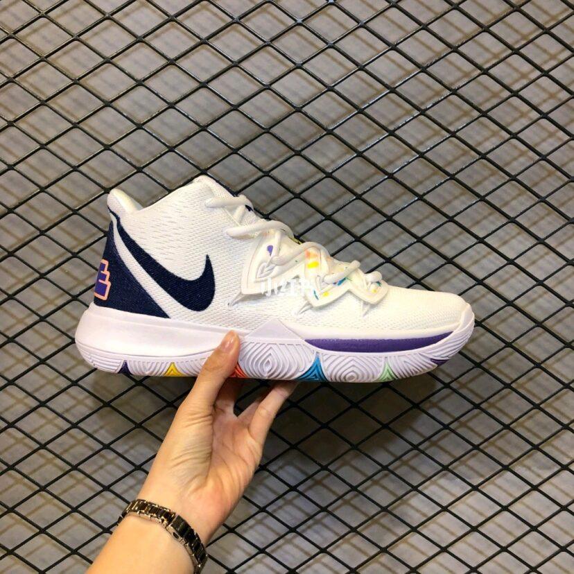 耐克Nike Kyrie 5 Ep 欧文5笑脸炫彩男子专业篮球鞋