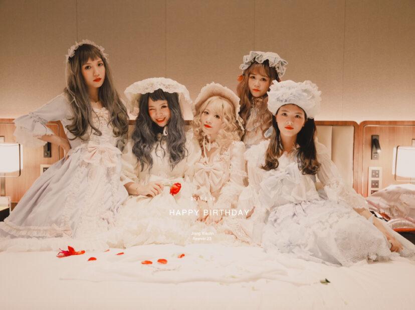 PARTY福州Lolita生日趴 女生lolita男生西装图片