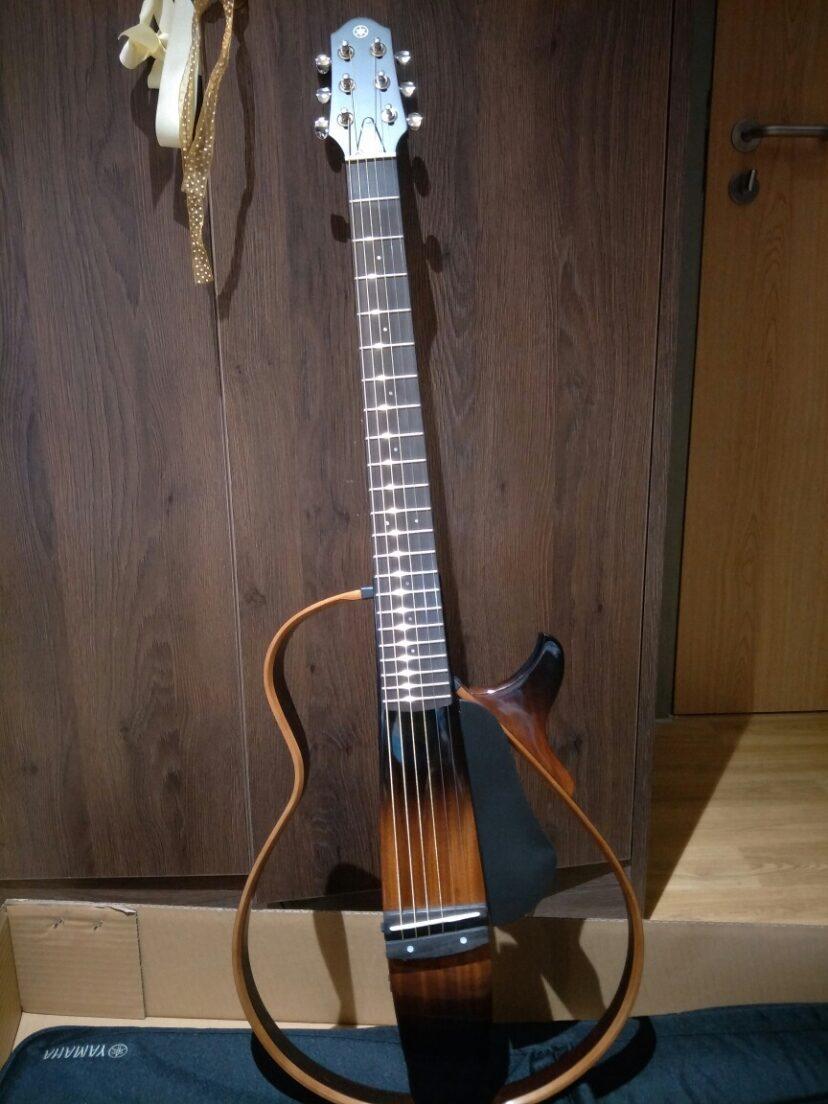 大叔啥品味!不会指弹吉他,就说吉他缺角不重要?听听看静音吉他