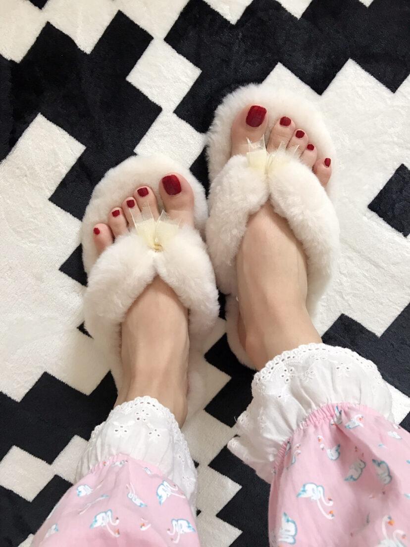 UGG羊毛拖鞋