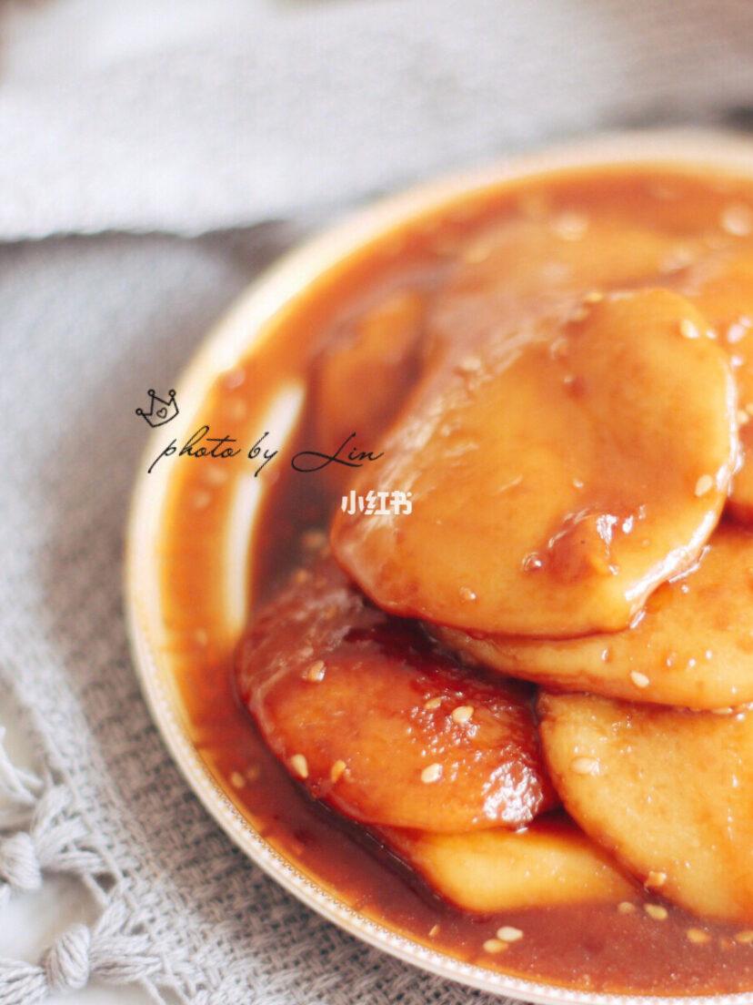 一个北方菇凉做的姜味儿黑糖糍粑,请大家点评