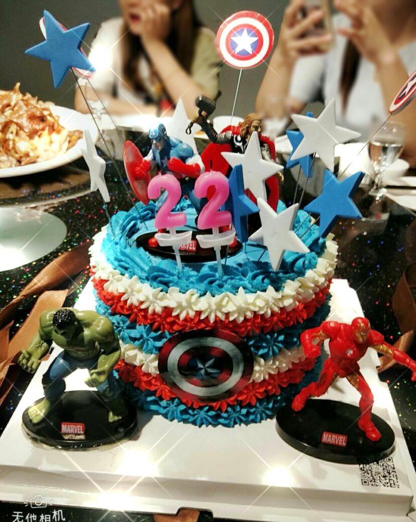 漂亮生日蛋糕图片大全