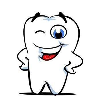 牙齿简笔画