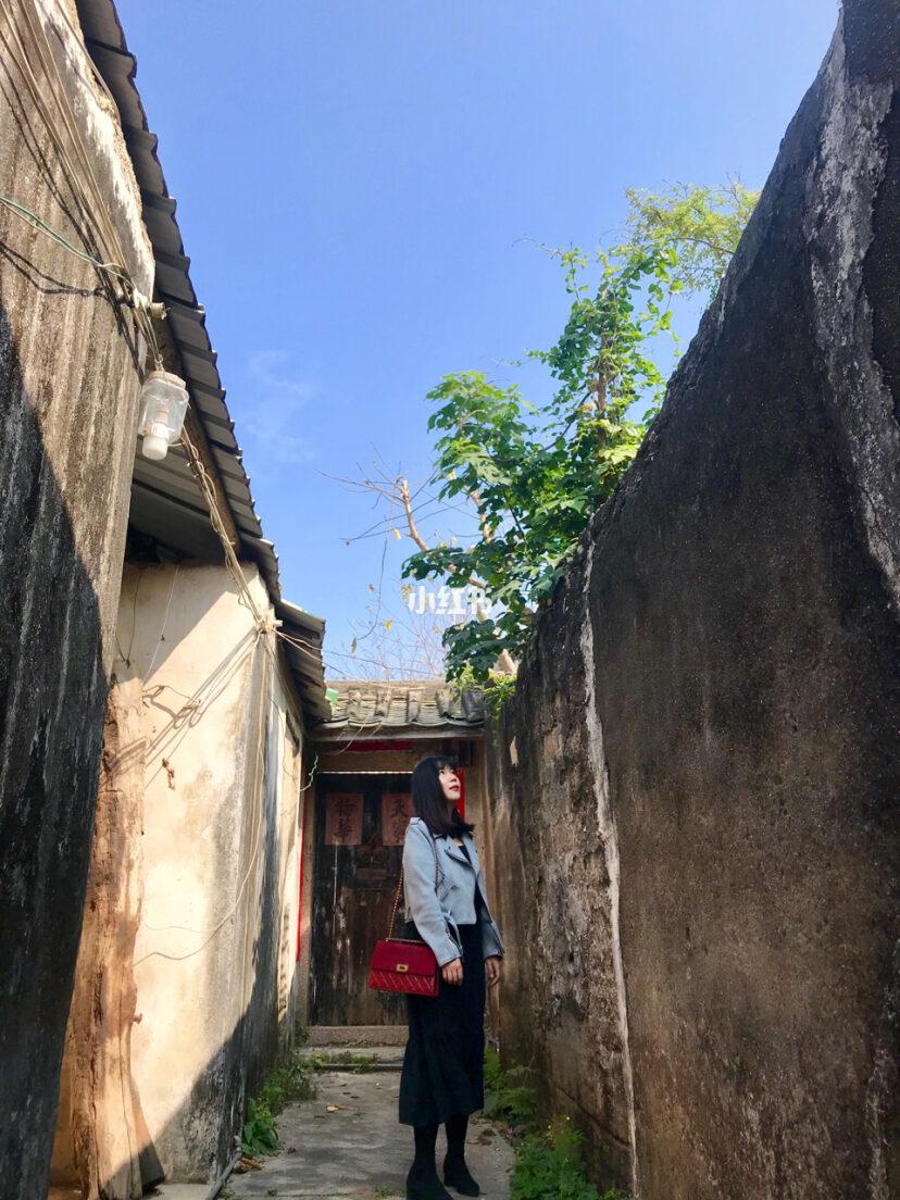 林寨古村落图片