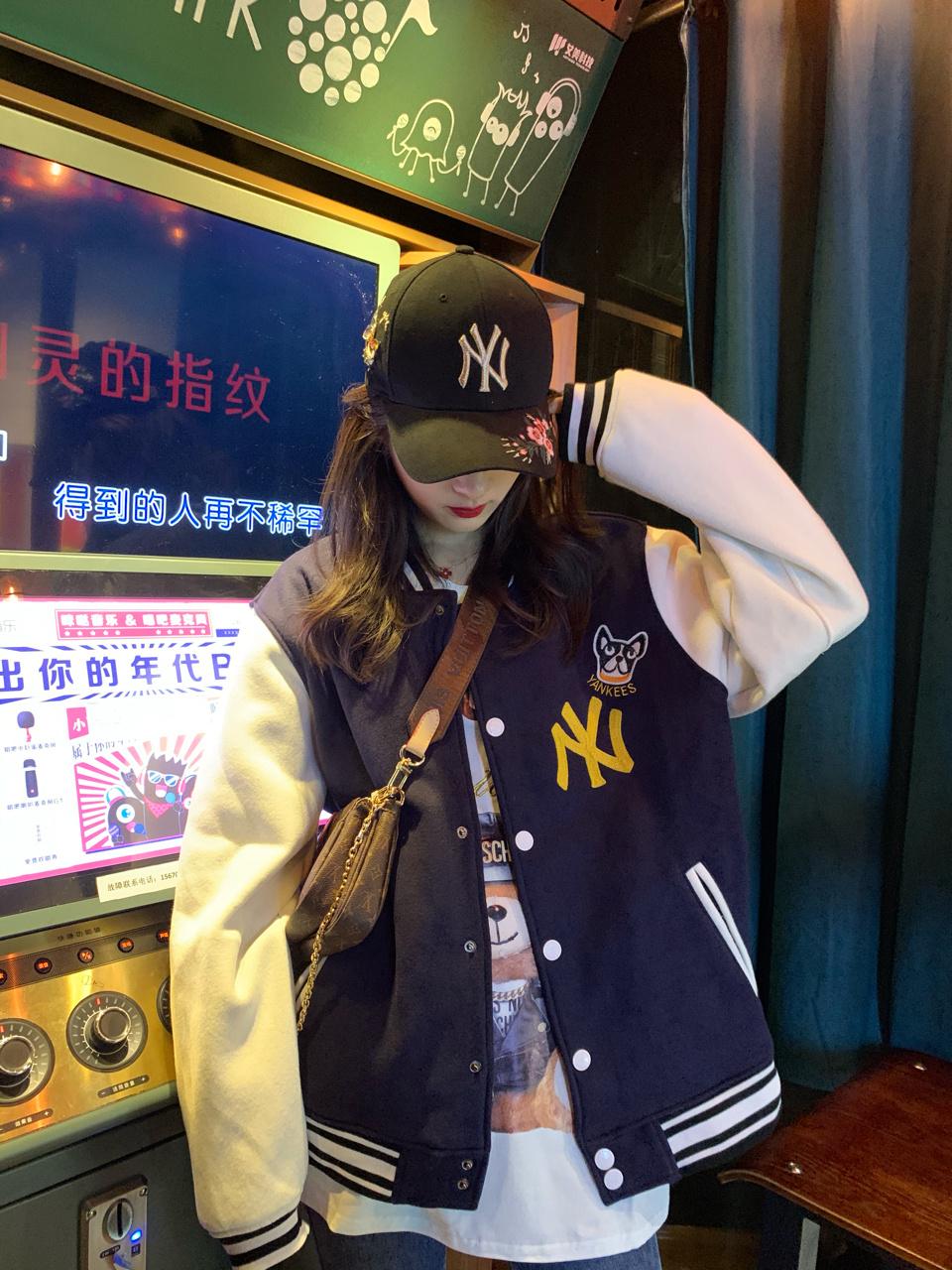 分享♥︎秋冬新款棒球服厚外套