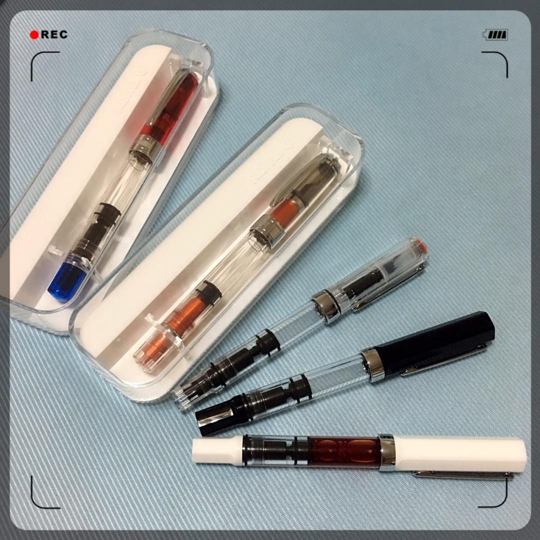 手账 彩色墨水之三文堂钢笔 ,手帐工具