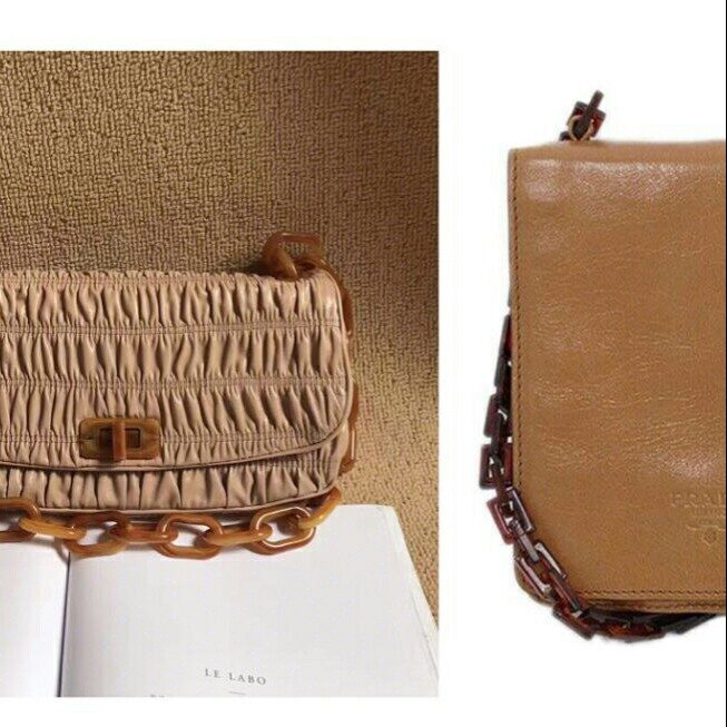 premium selection 9b223 93384 Prada玳瑁中古包🦌材质和设计的mixture_时尚_箱包_小红书